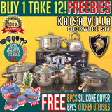 BUY 1 KAISA VILLA COOKWARE SET TAKE 12 FREEBIES