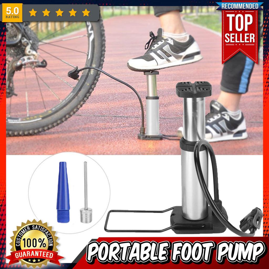 Portable Bicycle Foot Pump