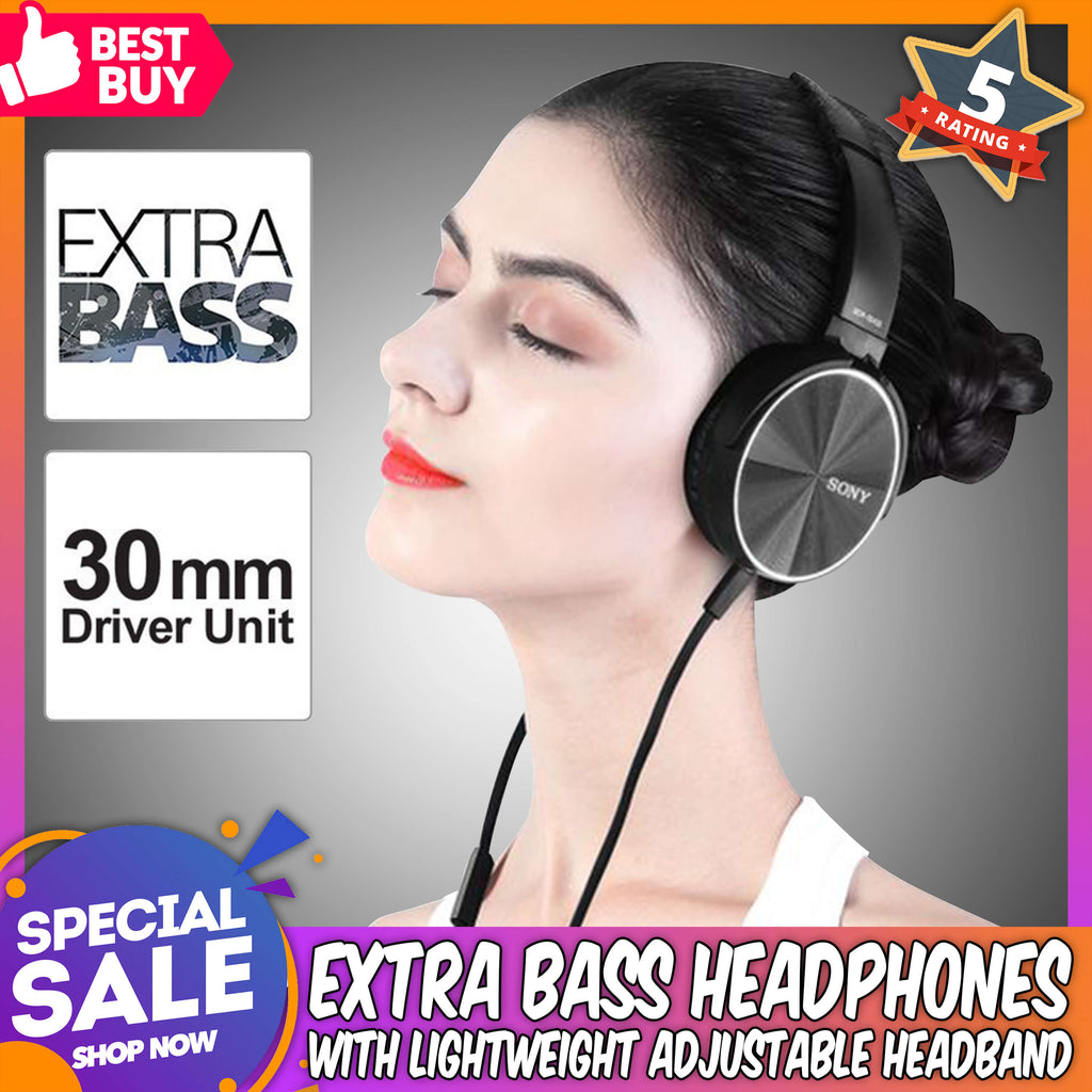Multi-Platform Compatibility Friendly User Extra Bass Headset with Mic