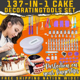 137 IN 1 CAKE DECORATING TOOLS SET