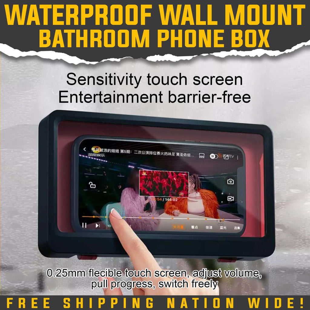 WATERPROOF WALL MOUNT BATHROOM PHONE BOX