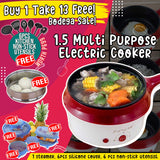 BUY 1 MULTI PURPOSE ELECTRIC COOKER TAKE 13 FREE
