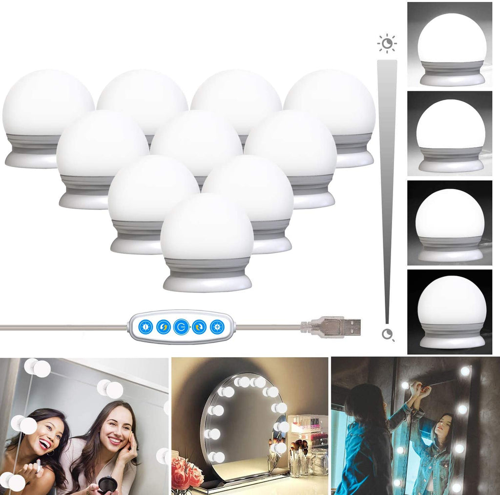 Holywood Vanity 10 LED Light Bulbs