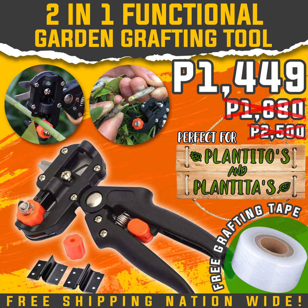 2 IN 1 FUNCTIONAL GARDEN GRAFTING TOOL