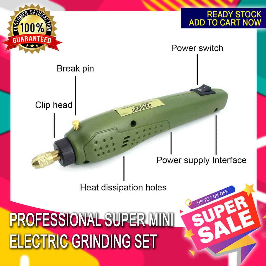 Professional Mini Grinding Set 12V Drill Grinder Tool