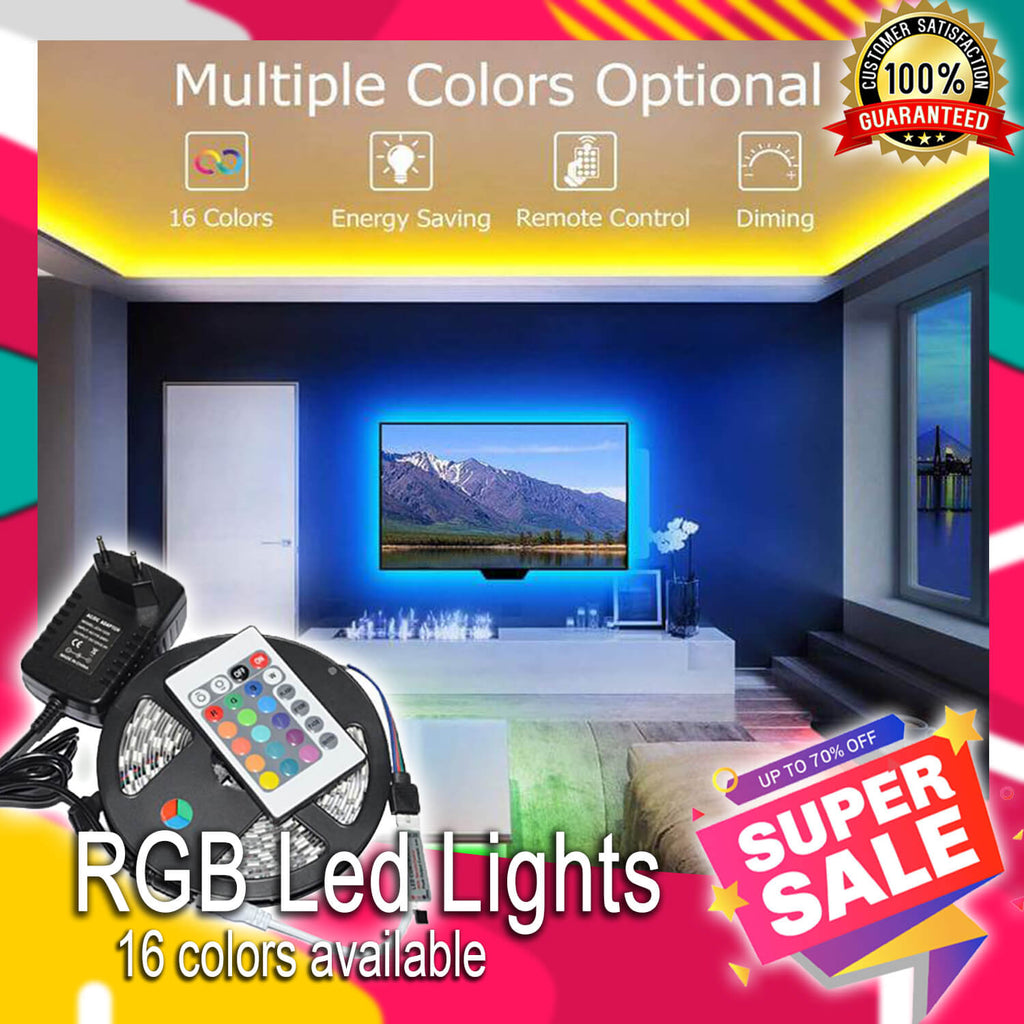 Multipurpose-Color LED Strip Light Kit