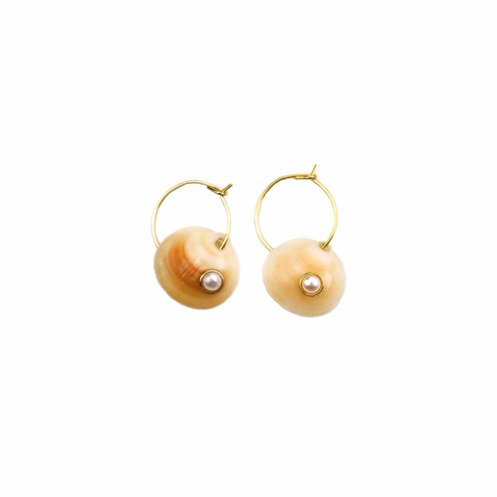 Hannah Shell Earrings