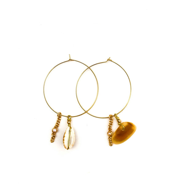 Jennie Hoop Earrings