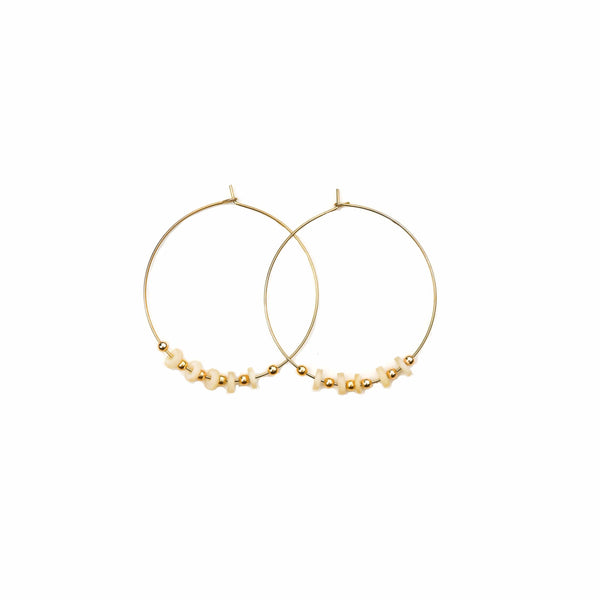 Kimberly Hoop Earrings