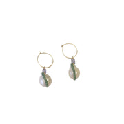 [Buy Freshwater pearl earrings online] - briwok jewellery