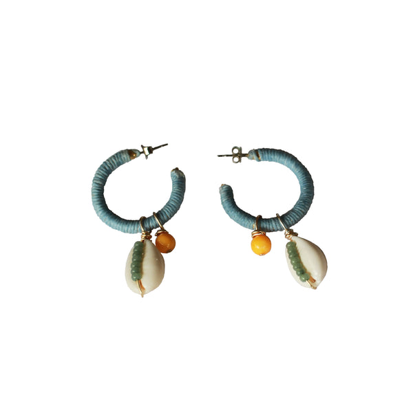 Sunday Cowrie Earrings