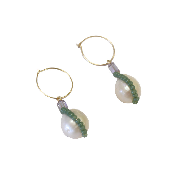 [Buy australian Freshwater pearl earrings online] - briwok jewellery