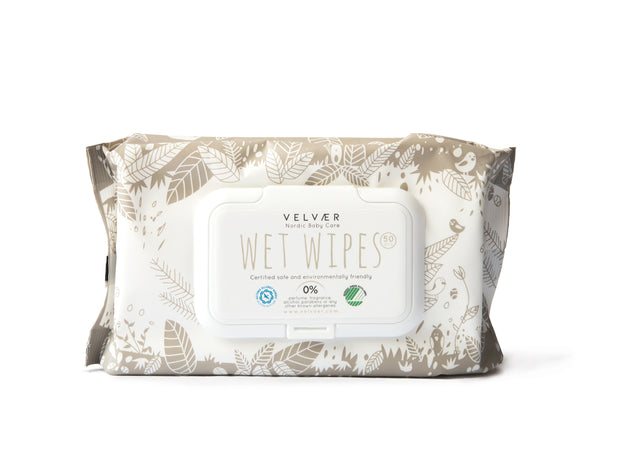 Wet wipes - 6 + 2 free packages