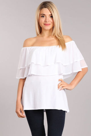 Chatoyant Multi-wear Convertible Top White