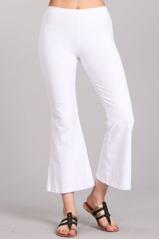 Chatoyant Mineral Washed Crop Flare White