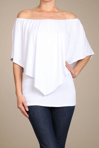 Chatoyant 4 Way Convertible Top White