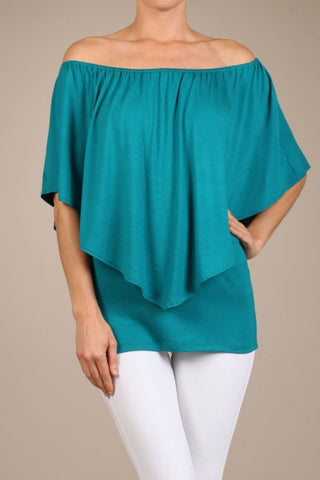 Chatoyant 4 Way Convertible Top Teal