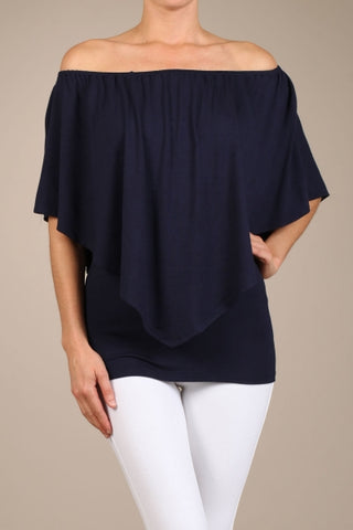 Chatoyant 4 Way Convertible Top Navy