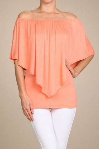 Chatoyant 4 Way Convertible Top Apricot