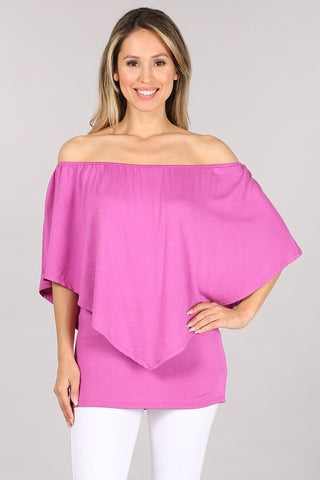 Chatoyant 4 Way Convertible Top Pink Orchid