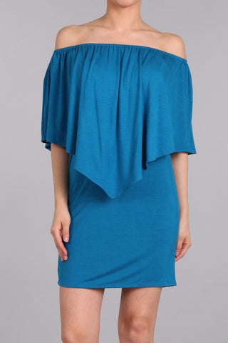 Chatoyant 4 Way Convertible Dress Pacific Blue