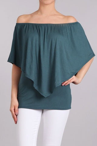 Chatoyant 4 Way Convertible Top Deep Teal
