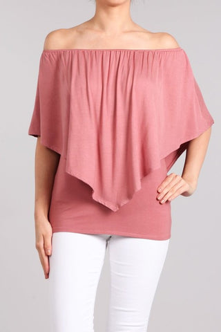 Chatoyant 4 Way Convertible Top Dusty Pink