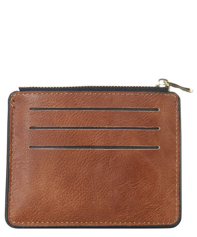 Compact Credit Card Case Wallet