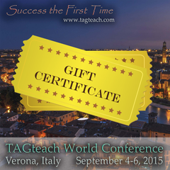 TAGteach Conference Gift Certificate