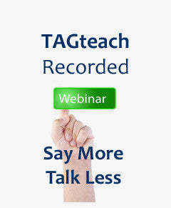 Webinar Recording: Say More/Talk Less