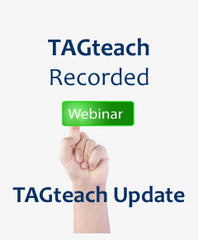 Webinar Recording: TAGteach Update