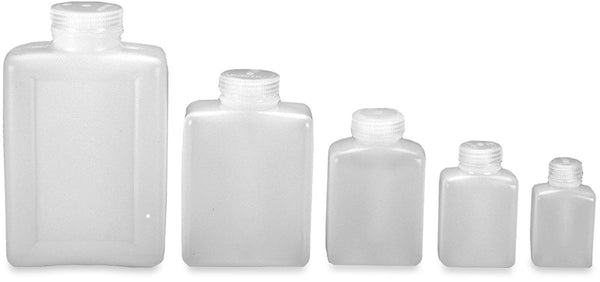 Nalgene Wide Mouth Rectangular HDPE Container