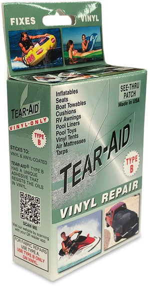 Tear Aid Repair Kit Vinyl (TAV) Type B Green