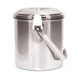 Zebra Stainless Steel Billy - Loop Handle Pot
