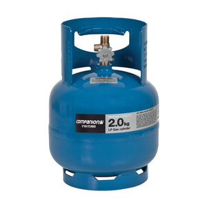 "Companion Gas Bottle 2.0KG 3/8"" LH CYLINDER"