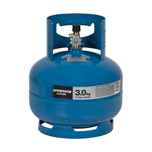 "Companion Gas Bottle 3.0KG 3/8"" LH CYLINDER"