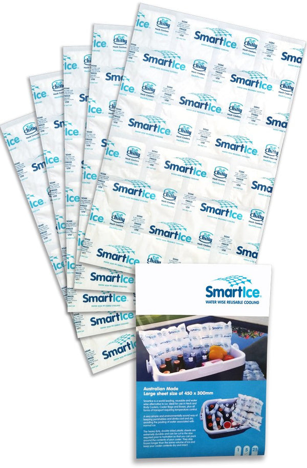 SmartIce Reusable Cooling Sheets Pack 5