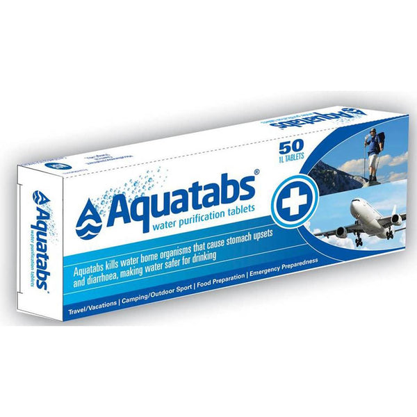 Aquatabs Water Purification Tablets 50