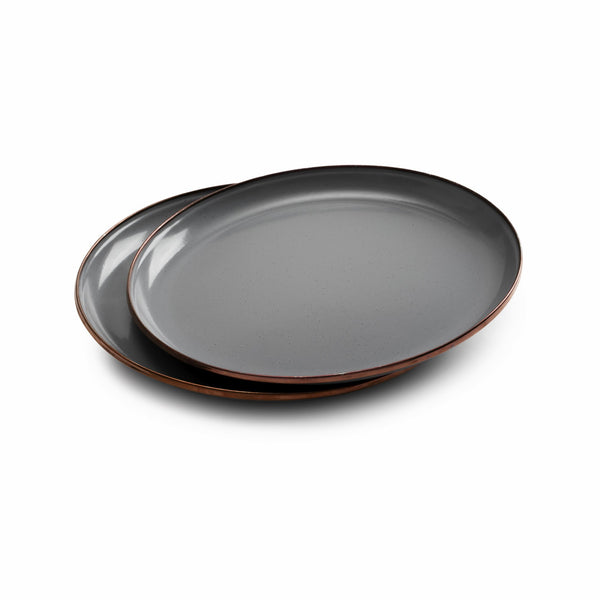 BAREBONES Enamel Salad Plate Set of 2