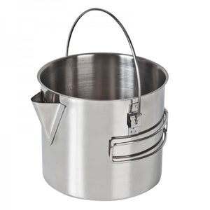 Campfire Stainless Steel Billy Style Kettle 750ml