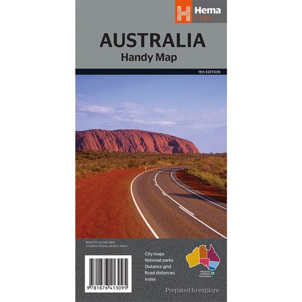 Hema Australia Handy Map