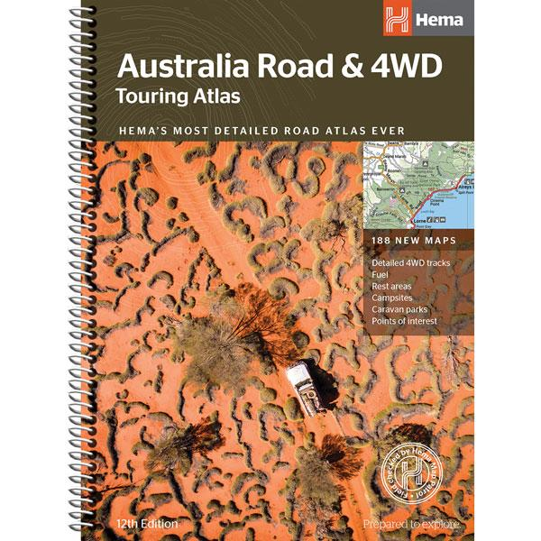 Hema Australia Road & 4WD Touring Atlas 215x297mm