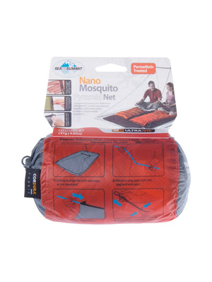 Sea to Summit Nano Mosquito Net Double Treated