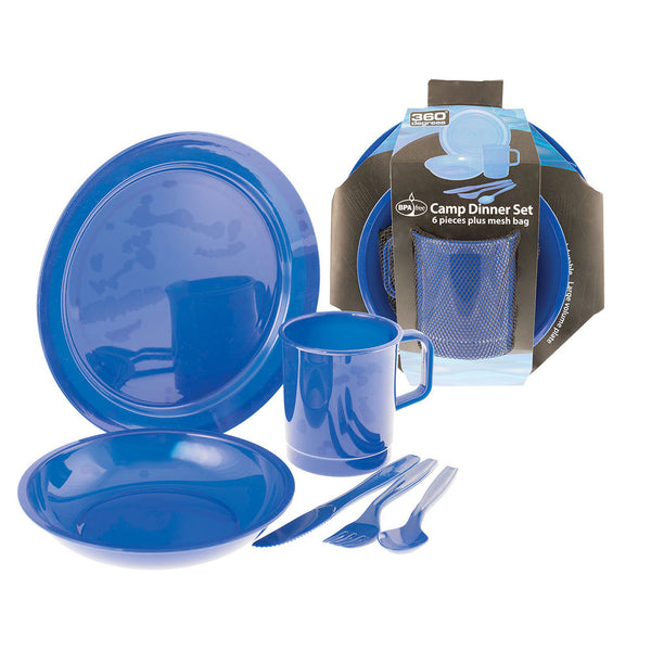 360 Degrees Dinner Set (Blue)