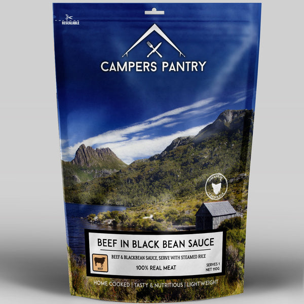 Campers Pantry Beef & Blackbean