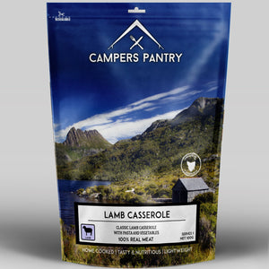 Campers Pantry Lamb Casserole