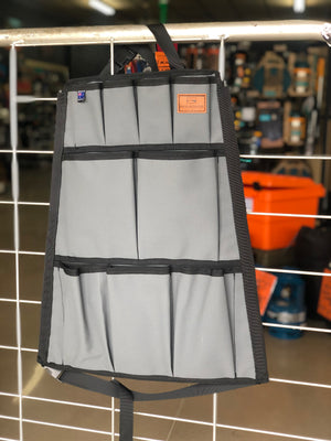 Red Roads Canvas - 12 Pocket Seat Organiser - Made in Australia