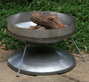 Hillbilly Fire Dish - Stainless Steel