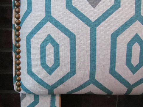 closeup nailhead