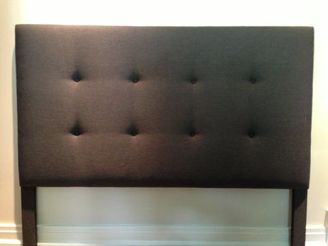 yet another tufted headboard